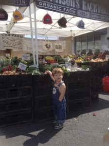 Organic food is good for kids.